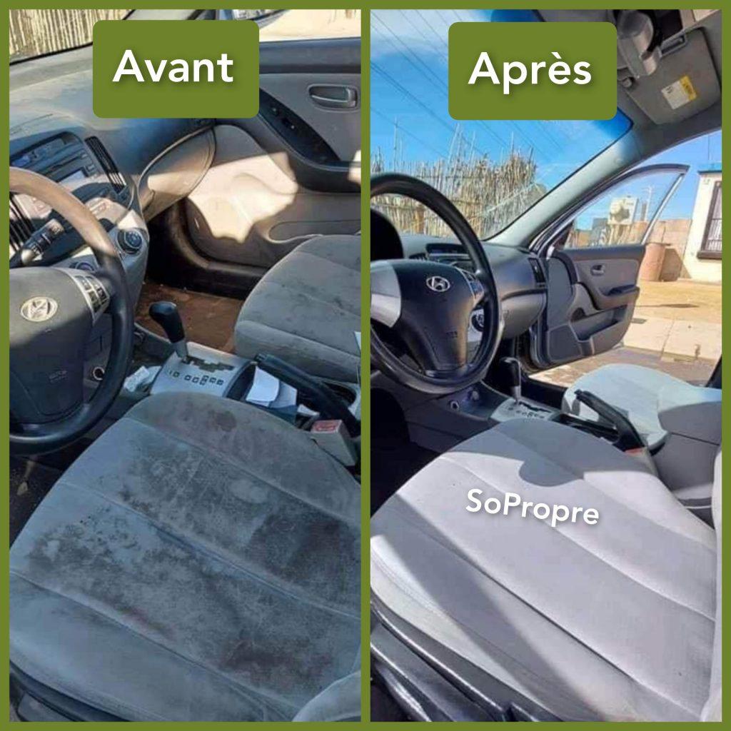 Nettoyage de sieges de voiture a domicile
