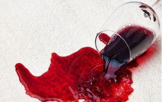 tache de vin rouge